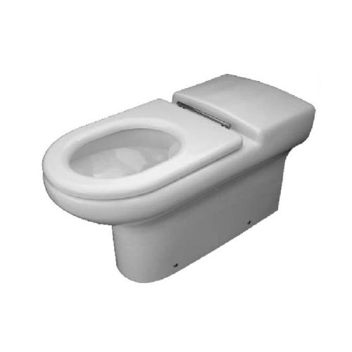 H&L Rimless Flush 750mm Extended Projection Back-to-Wall Floorstanding WC Pan